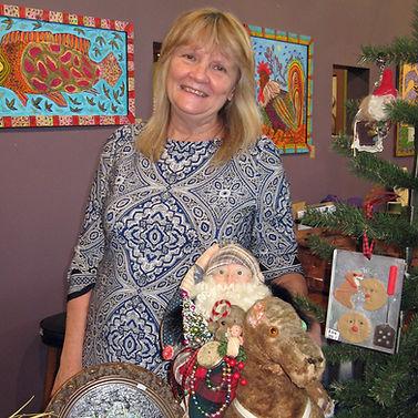 Melissa Menzer Artist Antique Assemblage