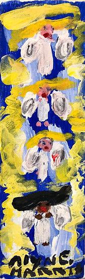 Four Angels by Alyne Harris