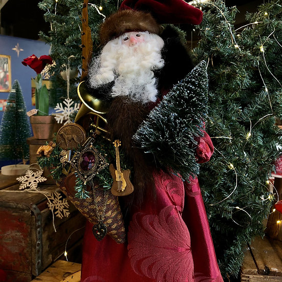 Great North Santa by Melissa Menzer