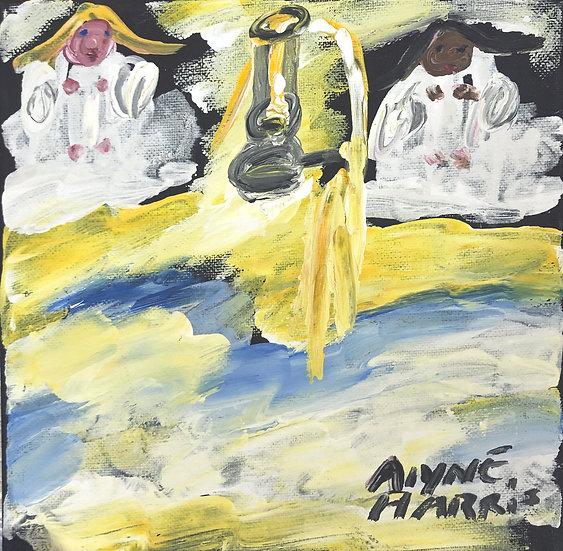 Two Angels by Alyne Harris