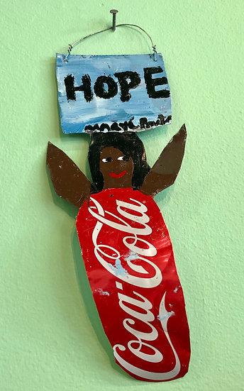 Coke Angel (D) by Mary Proctor