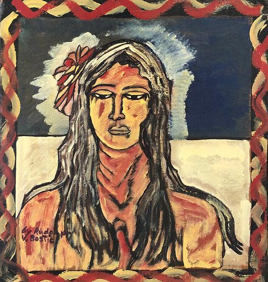Tahitian Woman by Rudy Bostic