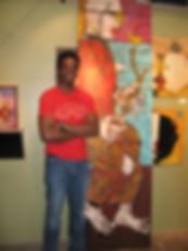 Michael BAnks Artist Outsider Art Raw Vision Folk ARt