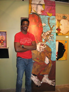 Michael BAnks Artist Outsider Art Raw Vision Folk ARt