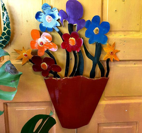Flower Pot by Pat Juneau