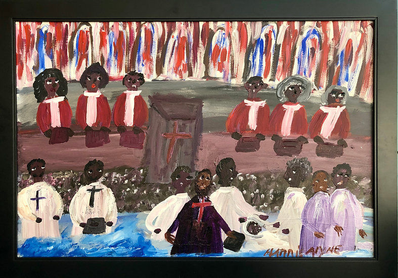 Baptism in the Church by Alyne Harris