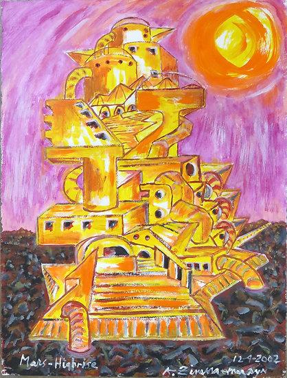 Mars Highrise by Kurt Zimmerman
