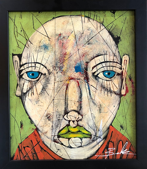 Abstract Portrait by Michael Banks