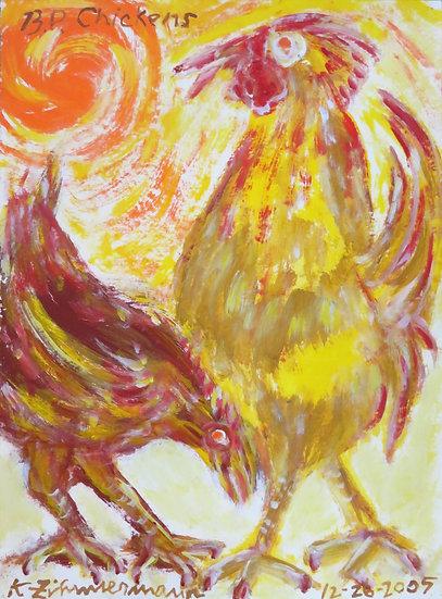 BP Chickens by Kurt Zimmerman