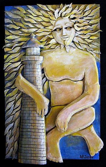 Sun God by Ab the Flagman