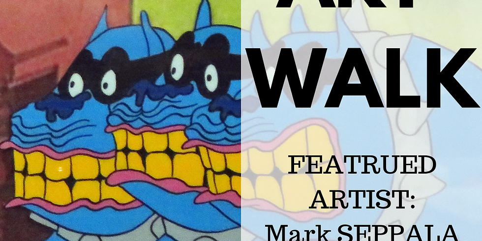 March Art Walk featuring Mark Seppala