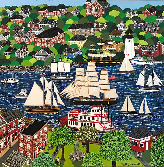 Harbor Town by Patty Bonner