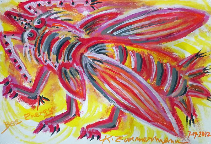Bee Energy by Kurt Zimmerman