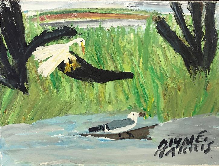 Birds and Rainbow by Alyne Harris
