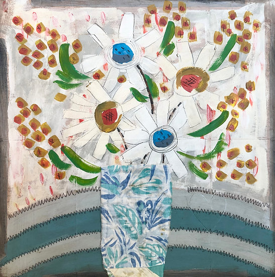 Applique Floral by Marian Baker