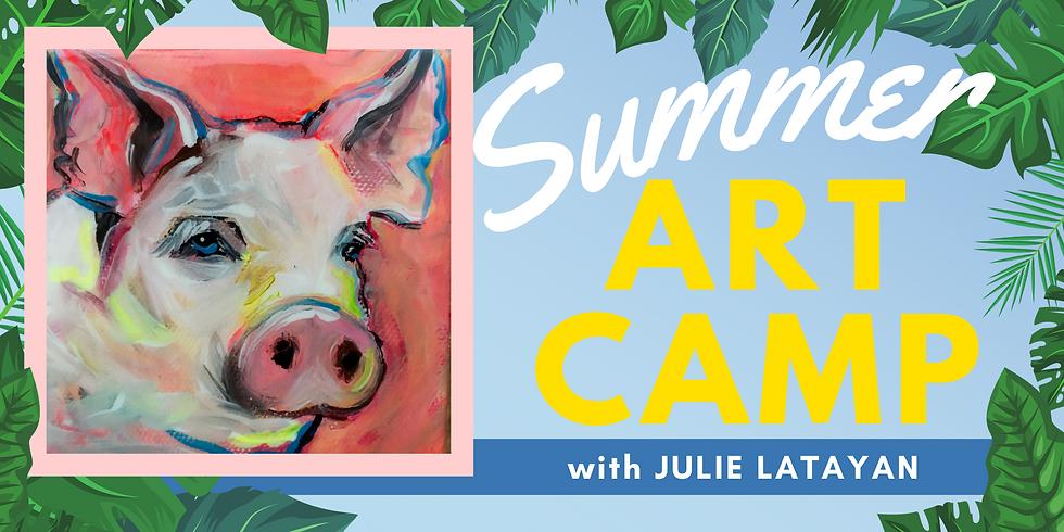 Summer Art Camp with Julie Latayan