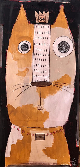 Meow Cat by Marian Baker