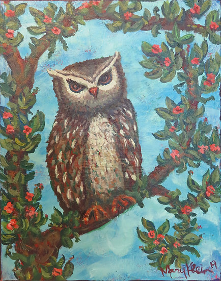 Spotted Owl by Mary Klein
