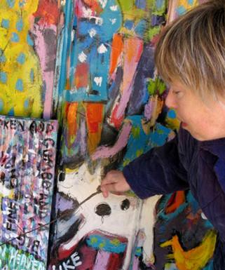 Lucy Hunnicutt Blues Art