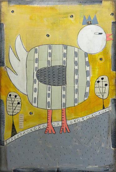 Hen by Marian Baker