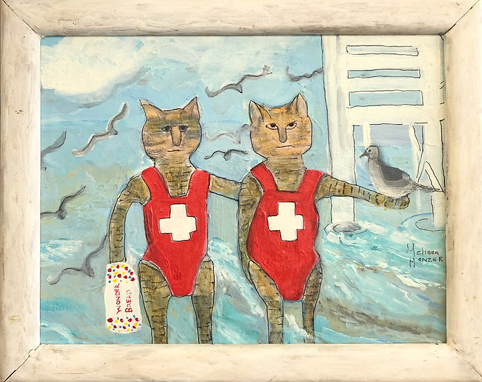Lifeguards by Melissa Menzer