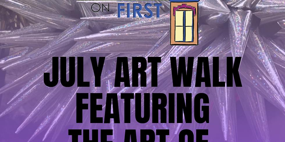 July Art Walk Featuring John Sullivan