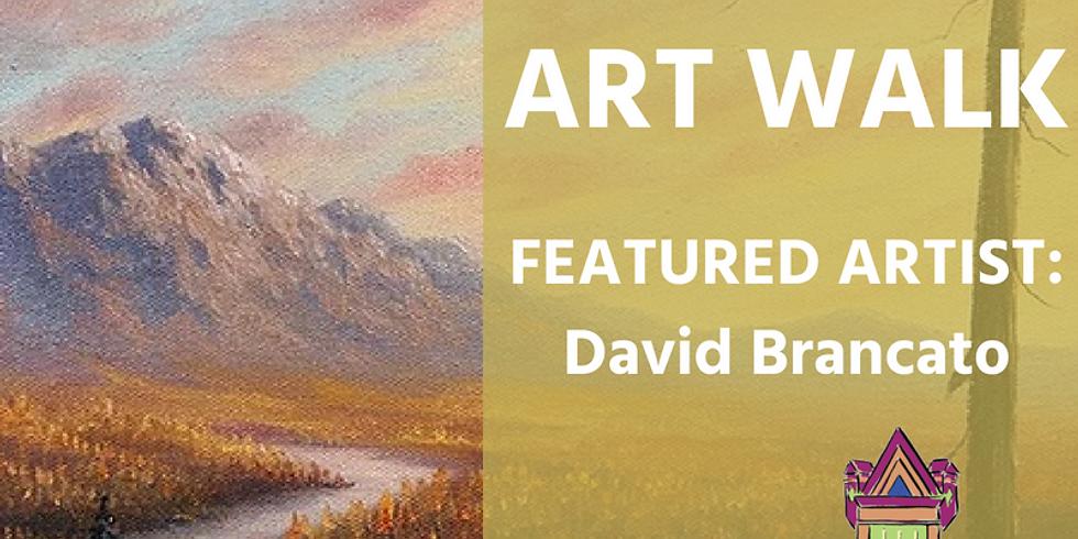 October Art Walk Featuring David Brancato