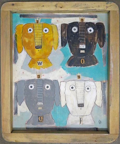 Woof by Marian Baker