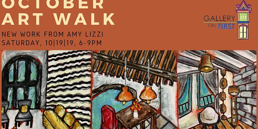 October Art Walk Featuring Amy LIzzi