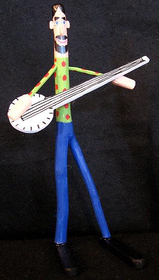 Banjo Player by Harry Jennings