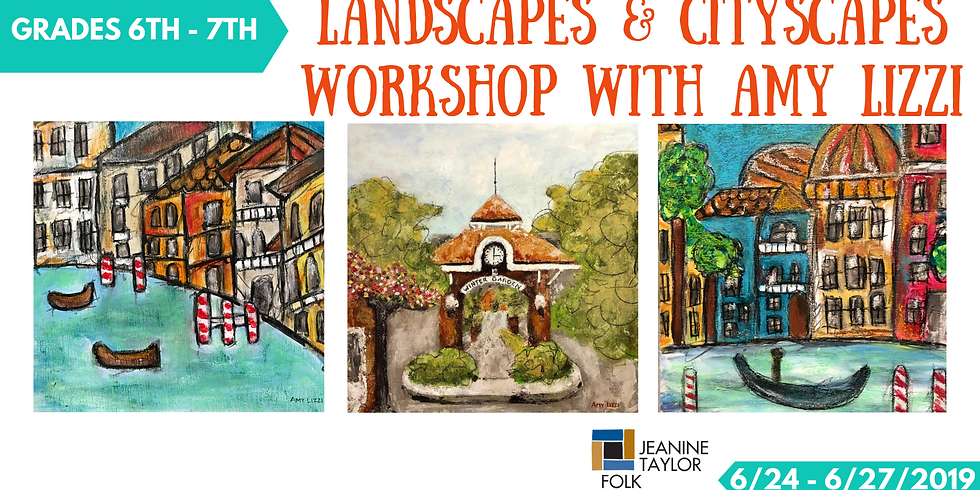 Landscapes & Cityscapes Workshop with Amy Lizzi