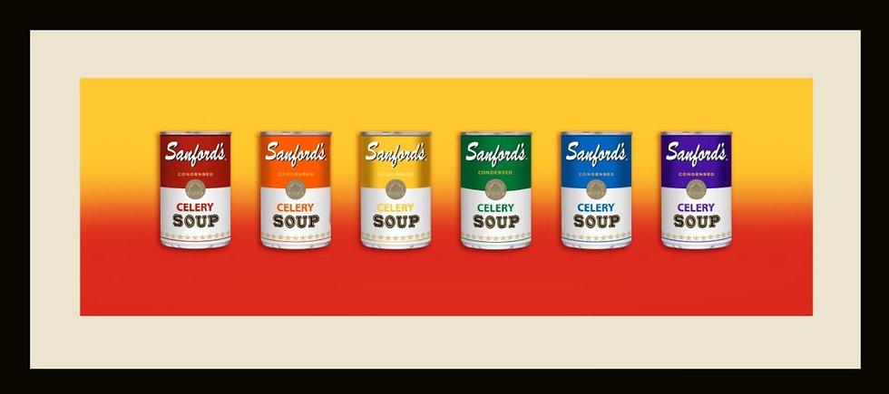 Celery Soup Rainbow by Mark Seppala