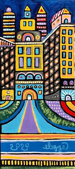 City Scene No. 1 by Eric Legge