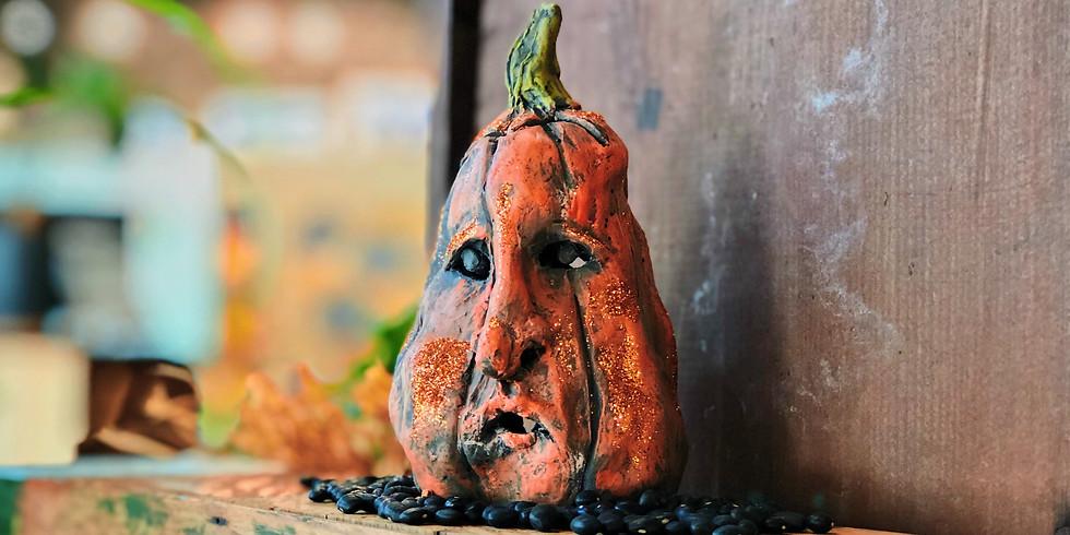 Pumpkin Pinch Pot Class