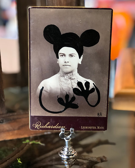 Mickey Man Cabinet Card by Butch Anthony