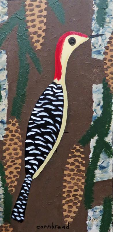 redheaded woodpecker large by john cornbread anderson
