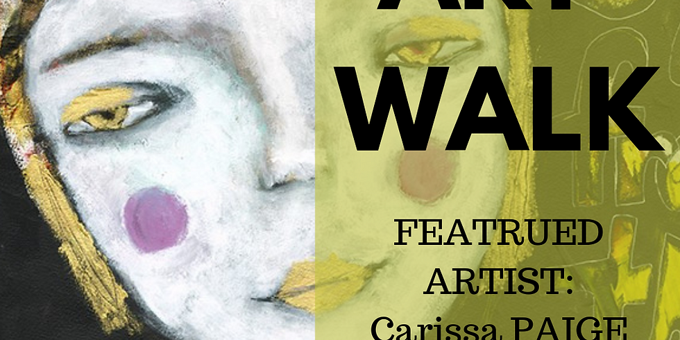 June Art Walk Featuring Carissa Paige