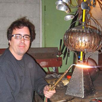 Adam Farrington Art New Orleans Artist Metal Art