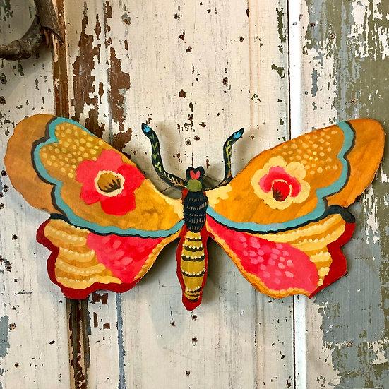 Joyful Moth by Kimberly Hodges