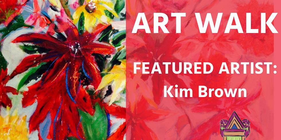 December Art Walk Featuring Kim Brown