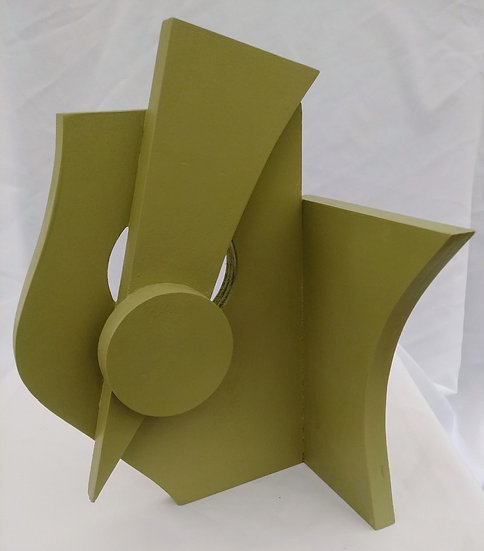 Green Maquette by Kevin Abbott