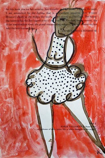 Ballerina on Red