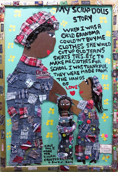 My Scrap Doll by Mary Proctor
