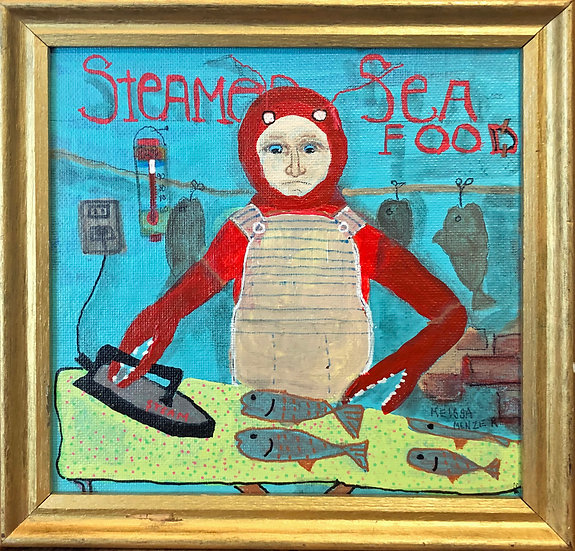 Steamed Seafood by Melissa Menzer