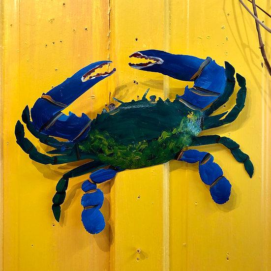 Blue Crab by Pat Juneau