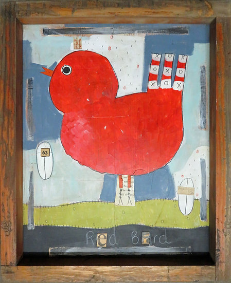 Red Bird by Marian Baker