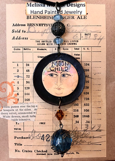 Moon Child Necklace by Melissa Menzer