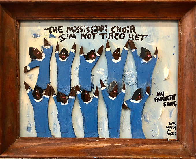 Mississippi Choir by Mary Proctor