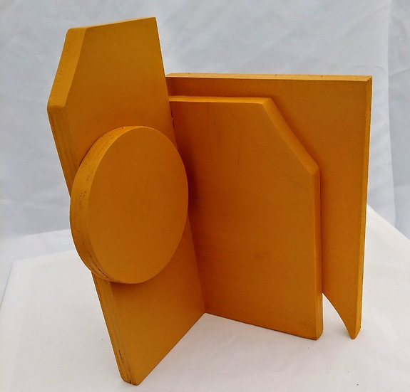Yellow Maquette by Kevin Abbott