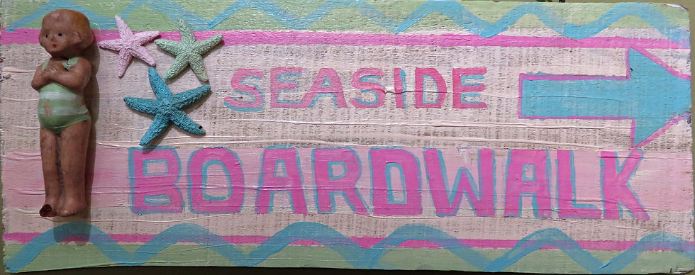 Seaside Boardwalk by Melissa Menzer